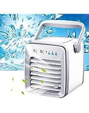 M-GLT Mini Ventilador de Aire Acondicionado portátil Refrigeración por USB La Forma rápida y fácil Cool Home Office Refrigerador de Ventilador de Espacio Personal