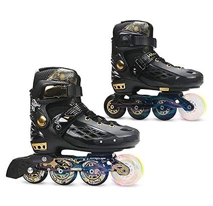 Amazon.com   YF YOUFU Adjustable Inline Skates for Boys Girls Kids ... e0dc24ff78