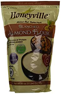 Amazon.com : Honeyville Farms Blanched Almond Meal Flour