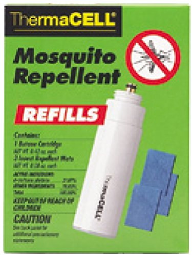 (Thermacell Mosquito Repellent Refill Pack for Repellers, Torch and Lanterns - 12 Hours Protection)