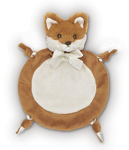 "Bearington Baby Wee Fritz, Small Fox Security Blankie, Lovey 9"" x 8"""