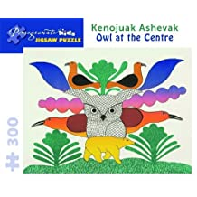 Owl at the Centre 300-piece Jigsaw Puzzle: Written by Kenojuak Ashevak, 2012 Edition, (Pzzl) Publisher: Pomegranate Communications [Toy]