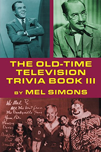 The Old-Time Television Trivia Book III (Honeymooners Game)