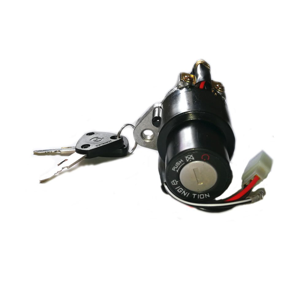 Unlimited Rider Motorcycle Ignition Switch Lock Assembly 3-Pin w/Keys For YAMAHA DT 125 R/TZR 250/XT 350/XT 600, XT250 XT550 XT600 1982-1989