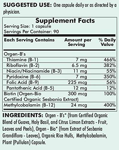 Amazon.com: Kirkman Vitamina B Complex 90 Cápsulas ...