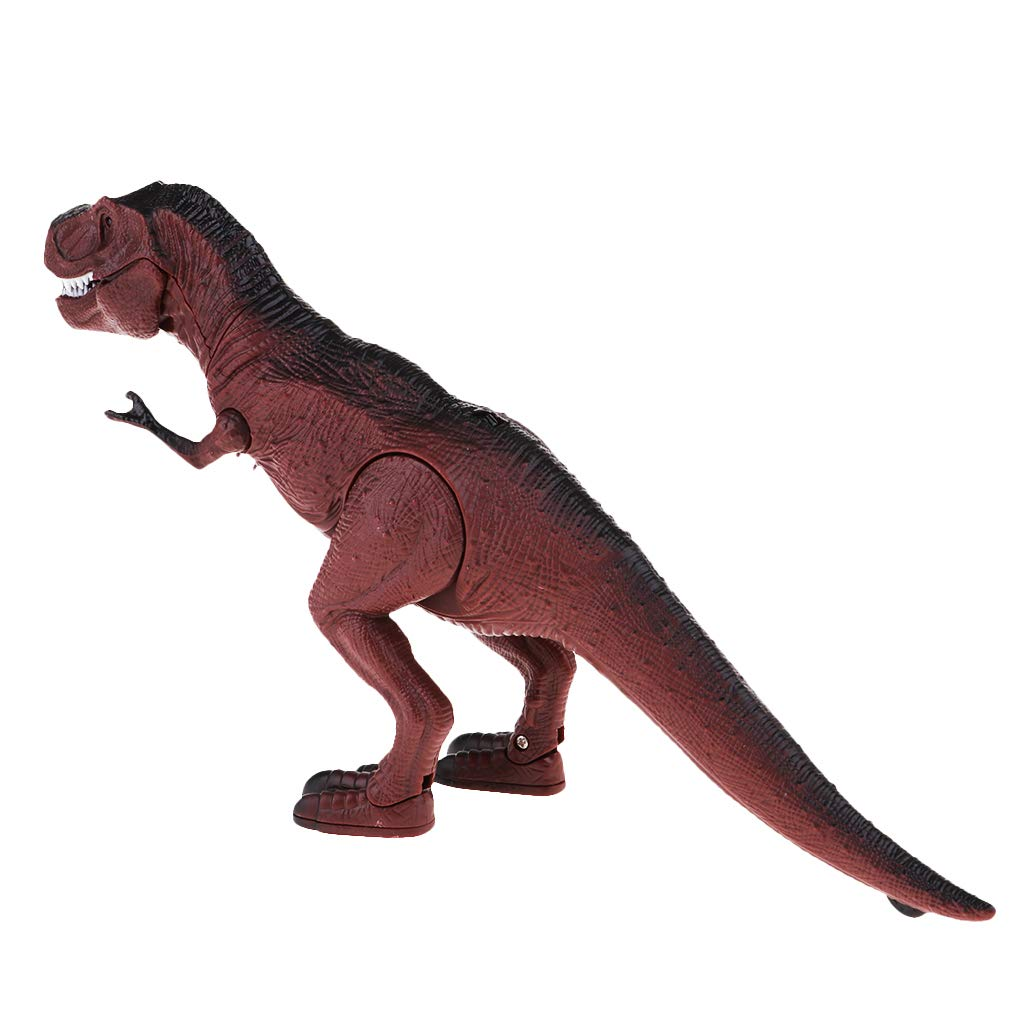 Remote Control Light-up Walking /& Roaring Dinosaur Toys for Boys and Girls T-rex