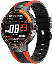 Smart Watch, Fitness Tracker with Blood Pressure Monitor Blood Oxygen Meter Heart Rate Monitor, IP68 Waterproo