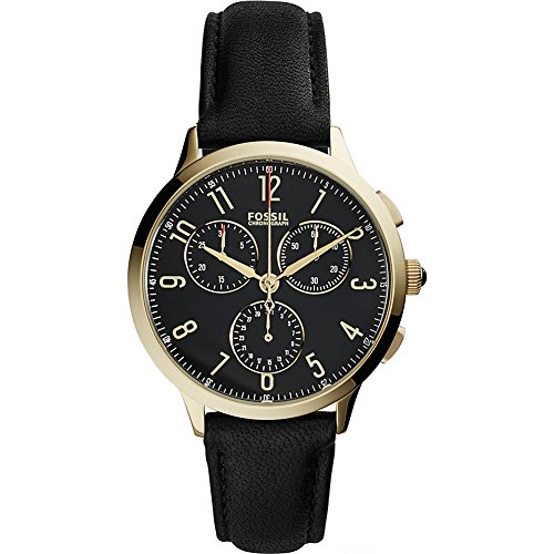 Fossil Abilene Chronograph Leather Watch