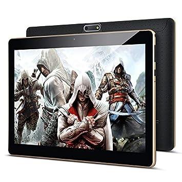 10 Zoll Android Tablet PC PADGENE 32G Speicher 2G RAM 0.3MP/2MP Kamera Dual-SIM Slots USB/SD IPS HD 1280x800 WiFi/3G/2G Entsp