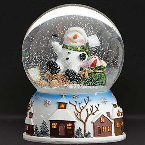 Christmas Musical Snowman Water Globe Direct Global Trading