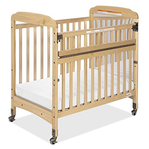 Foundations Serenity Safereach Compact Crib, Mirror End, Natural, 0-36 Months