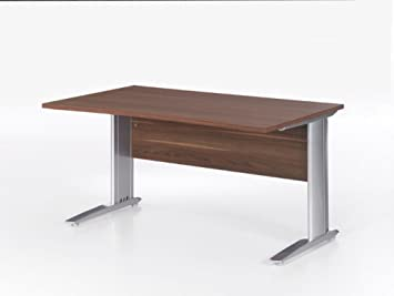Tvilum Box Schreibtisch Walnuss Breite 120 Cm Amazonde Küche