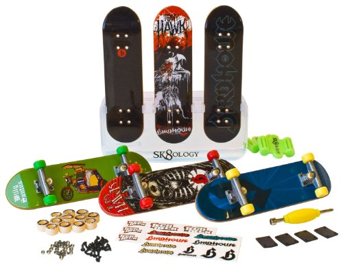 Tech Deck - SK8 Skate Shop Bonus Pack (Styles Vary) (Discontinued by manufacturer) by Spin Master (Image #1)