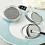 48 Modern Silver Graphic Design Compact Metal Mirrors