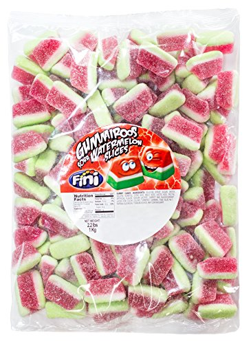 Watermelon Fruit Slices Gummy Candy 2.2 Pound