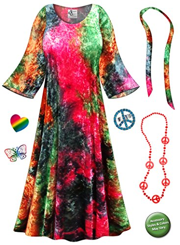 60s 70s fancy dress plus size - 2