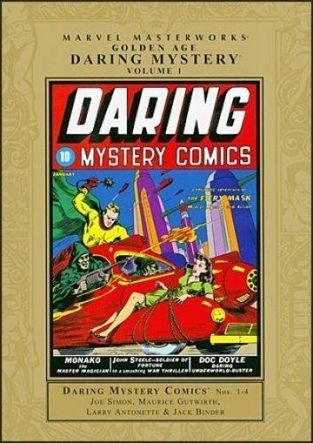 Read Online Marvel Masterworks: Golden Age Daring Mystery - Volume 1 pdf