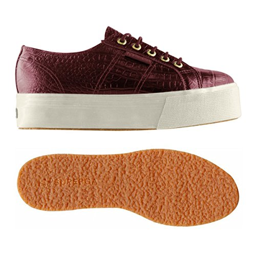 Cherry Sneaker fglwembcocco Red Superga 2790 Donna qHg1BT