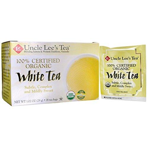 Organic White Tea 18 Bag(S)