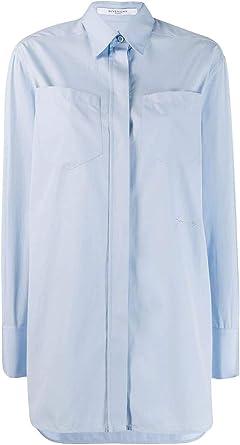 Givenchy Luxury Fashion Mujer Bw60jc111n487 Azul Claro Camisa | Autumn-Winter 19: Amazon.es: Ropa y accesorios