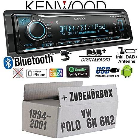 Autoradio Radio Kenwood KMM-BT504DAB - Dab+ | Bluetooth | iPhone ...