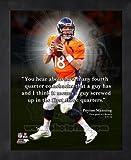 Peyton Manning Denver Broncos Pro Quotes Framed 8x10 Photo #2