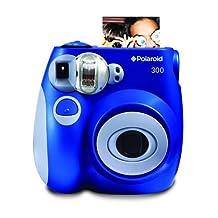 Polaroid PIC-300 Instant Film Camera (Blue)