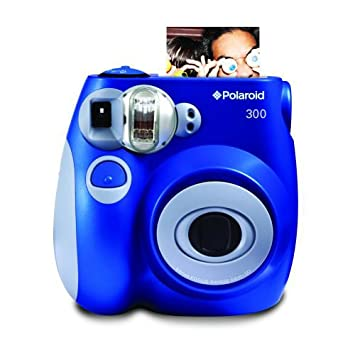 Polaroid PIC-300 Instant Film Camera (Blue)