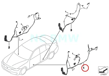 Amazon Com Bmw Genuine Wiring Drivers Side Automotive