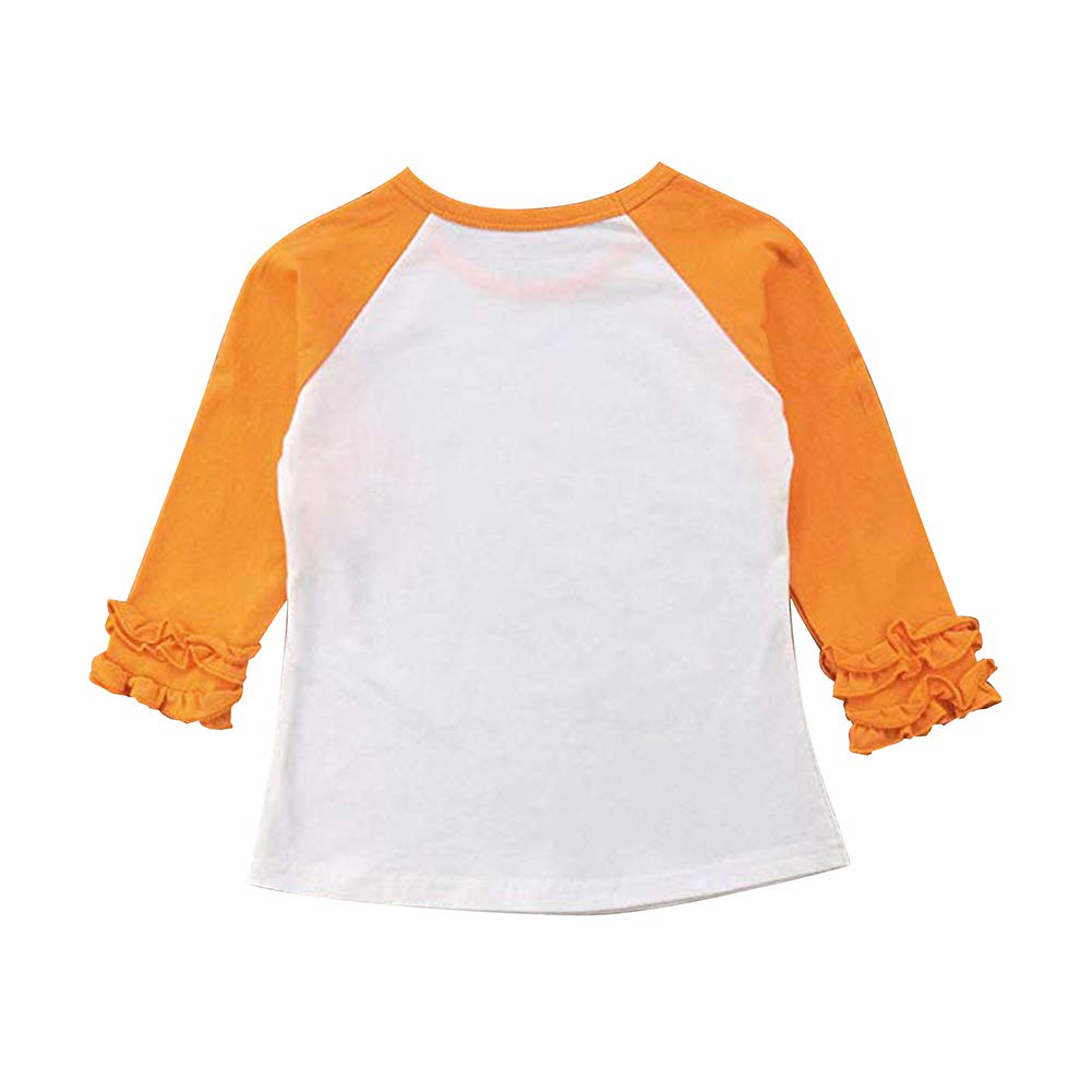 Fanient Baby Raglan Tee Toddler Kids Baseball T Shirts Fashion 3//4 Sleeves Jersey Tops 1-8T