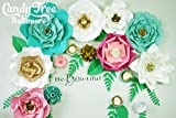 Paper Flower Backdrop / Giant Paper Flowers Wall / Paper Flower Wall / Wedding Wall / Wedding Arch