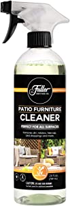Fuller Brush Patio & Outdoor Furniture Cleaner with Sprayer - Removes Dirt, Mildew, Tree Sap, Bird Droppings, Food and More - Perfect for All Surfaces - 24 Fl. Oz.