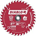 Freud Diablo 4-3/8-Inch 36 Tooth ATB Cordless Trim Saw Blade with 20-Millimeter Arbor and 3/8-Inch Reducer Bushing