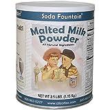 Soda Fountain Malted Milk Powder 2.5 Lb. (Single) - Malt Powder for Ice Cream and Baking - Made in Wisconsin