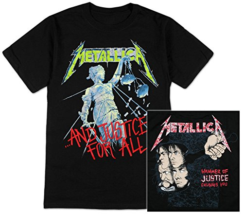 Officially Licensed Metallica And Justice For All T-Shirt - S to XXL