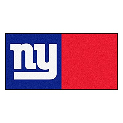 Fanmats New York Giants Team Carpet Tiles