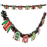 Ugly Sweater Party - ugly sweater garland - 6 foot by happy deals