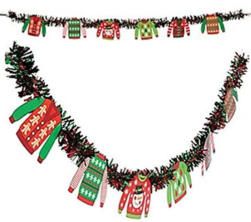 Paper Ugly Sweater Party Garland