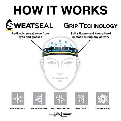 Halo Headbands Sweatband Halo I Tie Version, Blur by Halo Headbands (Image #1)
