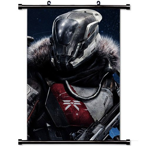 Home Decor Art Movie Poster with Titan Destiny Game Wall Scr
