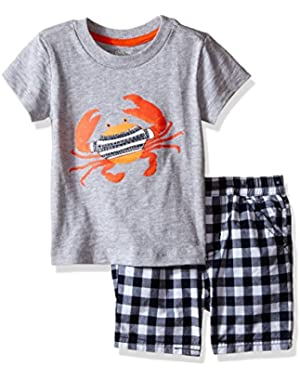 Baby Boys' Tee Short Set