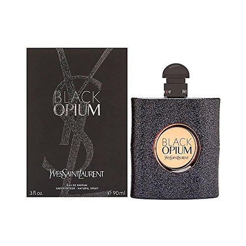 Yves Saint Laurent Eau De Parfum Spray for Women, Black Opium, 3 Ounce