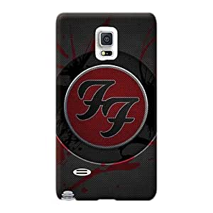 Shock-Absorbing Cell-phone Hard Covers For Samsung Galaxy Note 4 (PIn269Sgng) Support Personal Customs Fashion Foo Fighters Band Image