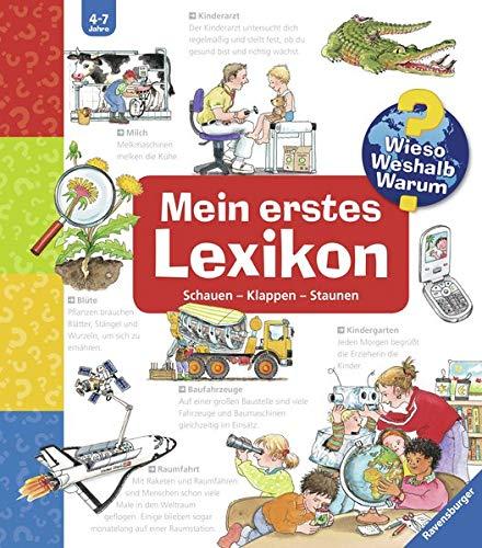 Mein erstes Lexikon: Schauen-Klappen-Staunen (Wieso? Weshalb? Warum? Sonderband) Spiralbindung – 1. Juni 2005 Andrea Erne Wolfgang Metzger Ravensburger Buchverlag 347332745X