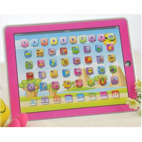 Xhaiz Early Educational Touch-screen Spanish Learning Tab...