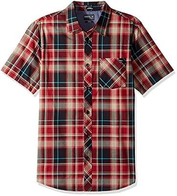 O'Neill Men's Plaid Short Sleeve Shirt