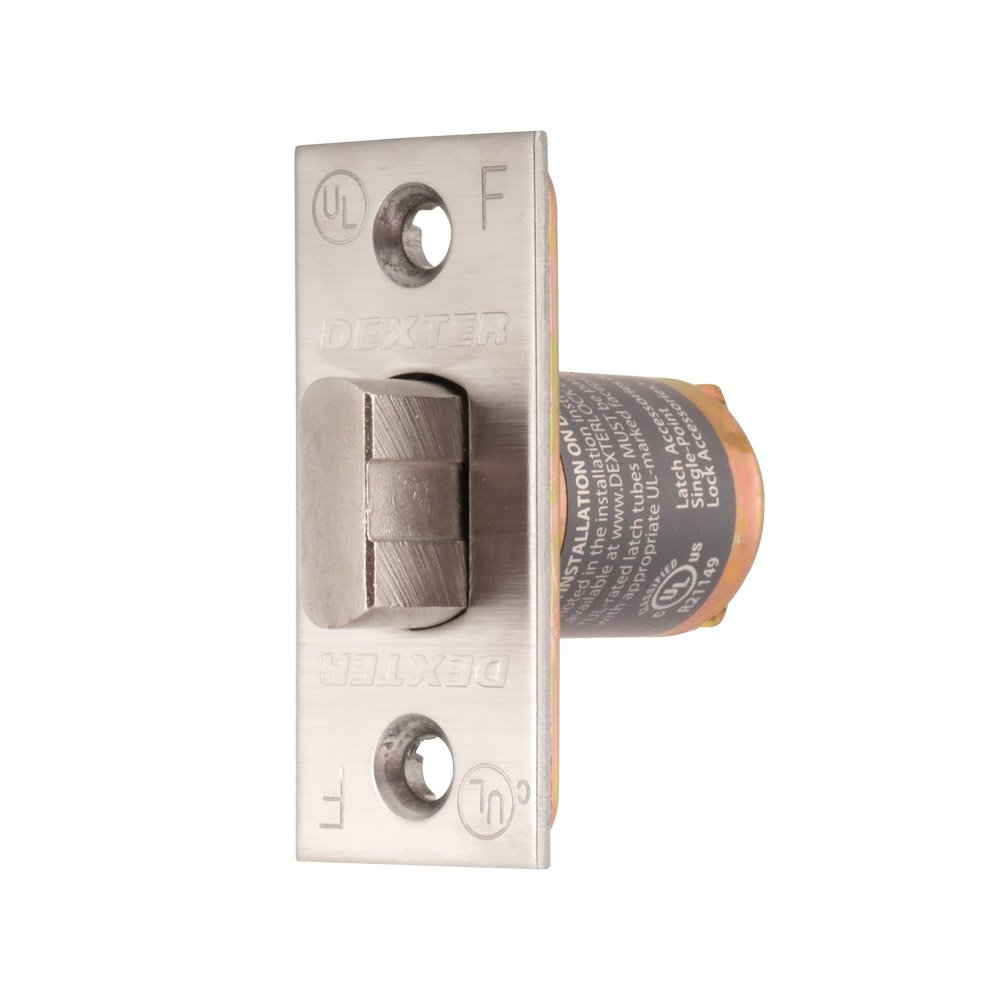 Dexter Commercial Hardware C2000-SL-630 Grade2 Passage, Privacy Spring Latch, 630, Satin Stainless Steel
