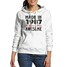 Made 1987 30 Years Awesome Women Pockets Pullover