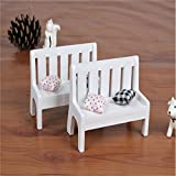 UXTIS Wooden Crafts Decorative Wedding Photo Home Furnishing Mini Props