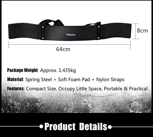 Arm Bicep Blaster,Weight Lifting Blaster Biceps Isolator Curl Bomber Gym Bar Training Fitness Neoprene Support Straps for Body Building